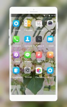 Theme for Lava Iris 465 Bouquet Wallpaper screenshot 1