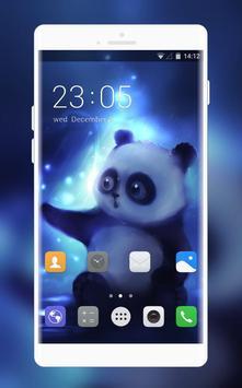 Theme for Lava KKT 38 Panda Wallpaper poster