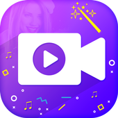 VidMake - Photo Video Maker With Music icon