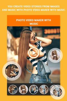 VidMake - Photo Video Maker With Music poster