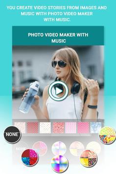 VidMake - Photo Video Maker With Music screenshot 1