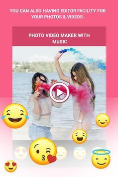 VidMake - Photo Video Maker With Music screenshot 2
