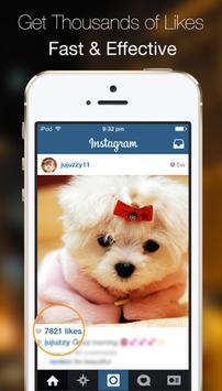 Insta Magic Instagram Likes screenshot 1