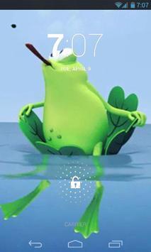 Lazy Frog Live Wallpaper apk screenshot