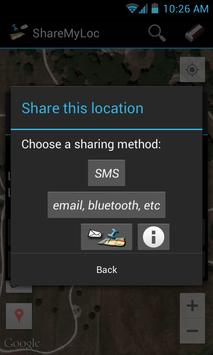 Share my location FREE screenshot 2