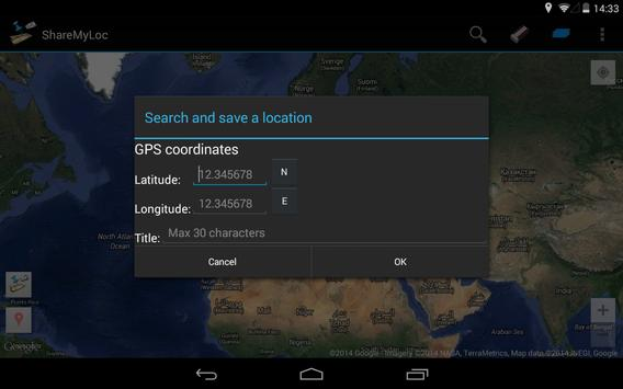 Share my location FREE apk screenshot