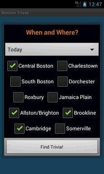 Boston Trivia Nights screenshot 3