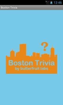 Boston Trivia Nights poster
