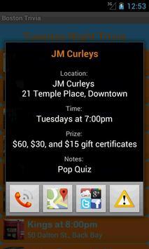Boston Trivia Nights screenshot 1