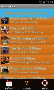 Boston Trivia Nights screenshot 2