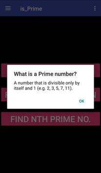 is_Prime apk screenshot
