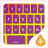 Purple Keyboard Theme icon
