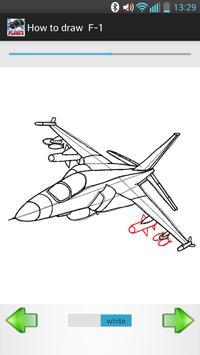 How to Draw warplanes screenshot 1