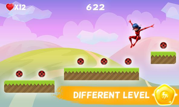 🐞 Ladybug Adventure - Chibi 2 screenshot 5