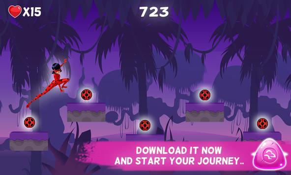 🐞 Ladybug Adventure - Chibi 2 screenshot 7