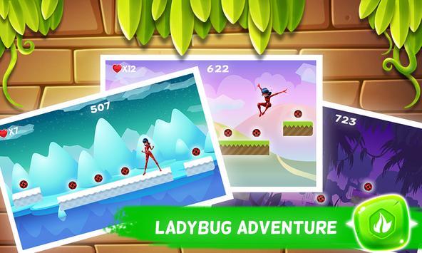🐞 Ladybug Adventure - Chibi 2 screenshot 8