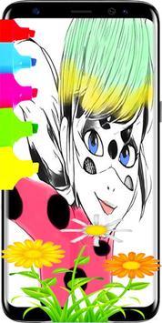 Ladybug and Cat Noir Coloring Book NEW apk screenshot