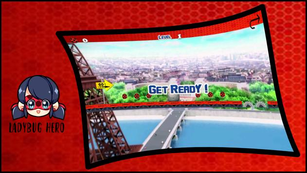 Ladybug Hero Adventure apk screenshot