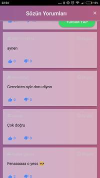 Söz & Mesaj Defteri - Sürekli güncel, Binlerce Söz screenshot 17