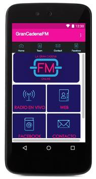 La Gran Cadena FM apk screenshot