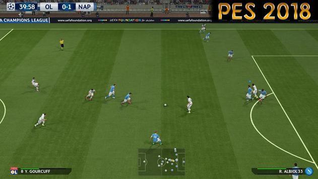 Guide PES 2018 Pro 18 apk screenshot