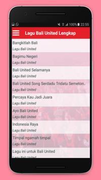 Lagu Bali United Lengkap screenshot 1