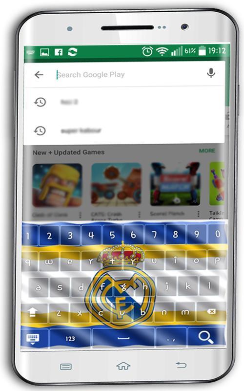 La Liga Official keyboard theme poster