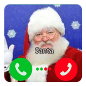 Call Video Santa Prank icon