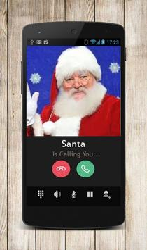 Call Video Santa Prank poster