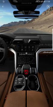 Lamborghini Unica poster