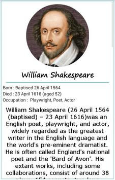 101 Great Saying by Shakespear poster