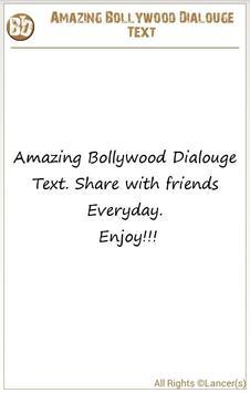 Amazing Bollywood Dialog Text screenshot 12