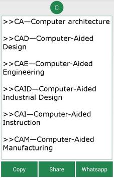 Computer And IT Abbreviations Poster