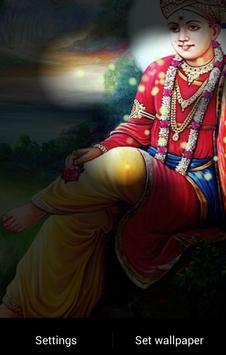 Lord Swaminarayan Fireflie LWP screenshot 3