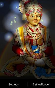 Lord Swaminarayan Fireflie LWP screenshot 12