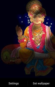 Lord Swaminarayan Fireflie LWP screenshot 1