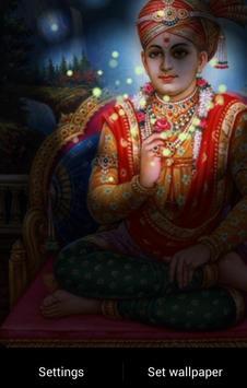 Lord Swaminarayan Fireflie LWP screenshot 2