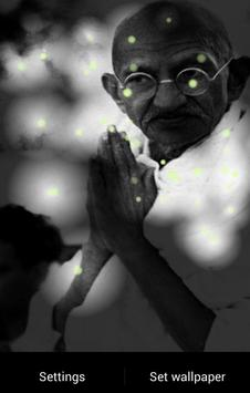 Mahatma Gandhi Fireflies LWP screenshot 3
