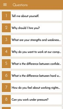 HR Interview Questions Answers poster