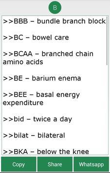 Complete Medical Abbreviations screenshot 1