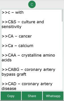 Complete Medical Abbreviations screenshot 4