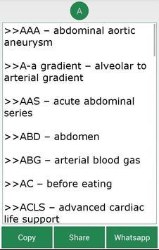 Complete Medical Abbreviations screenshot 6