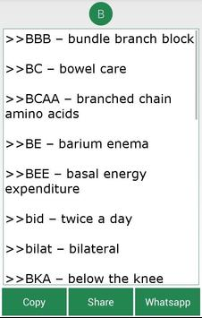 Complete Medical Abbreviations screenshot 9
