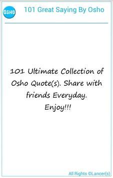 101 Great Saying By Osho screenshot 5