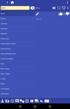 German Armenian dictionary screenshot 10