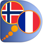 French Norwegian dictionary icon