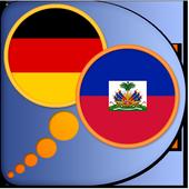 German Haitian Creole dict icon