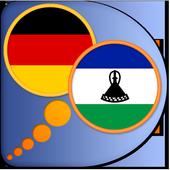 German Sesotho dictionary icon