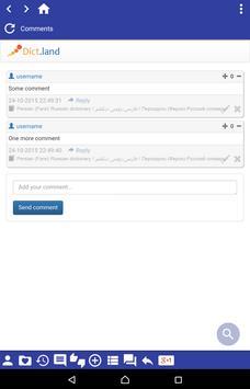 Persian (Farsi) Russian dict apk screenshot