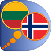 Lithuanian Norwegian dict icon